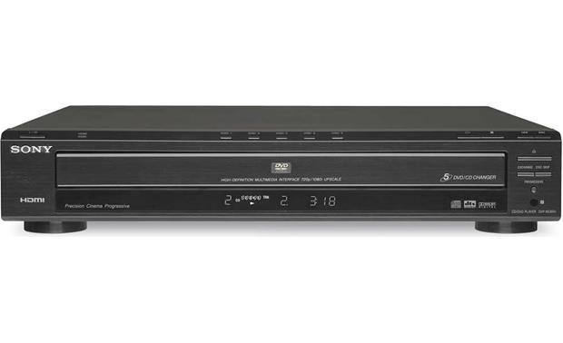 sony dvp nc85h black 5 disc dvd cd changer with digital video rh crutchfield com sony dvp nc85h service manual Sony CD Changer