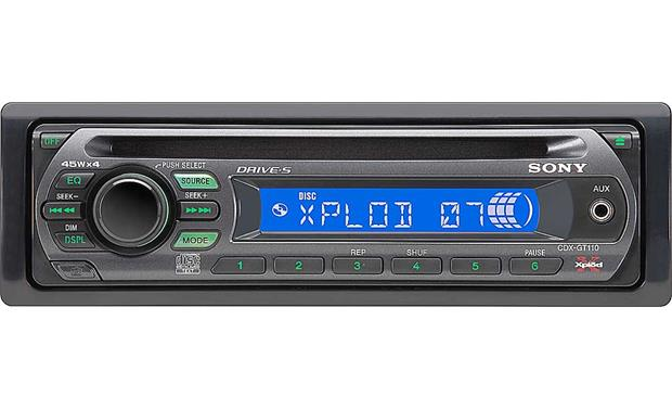 sony cdx gt110 cd player reviews at crutchfield
