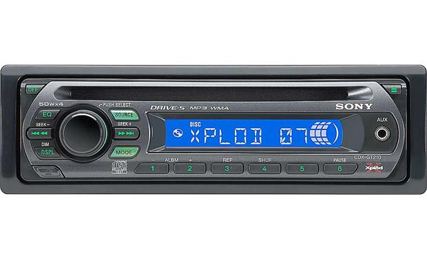 Sony Cdx-gt210 Cd Player With Mp3  Wma Playback