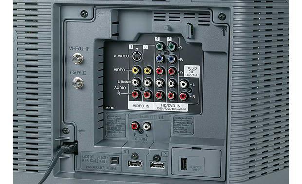 Sony KDF-50E2000 LCD TV Assembly