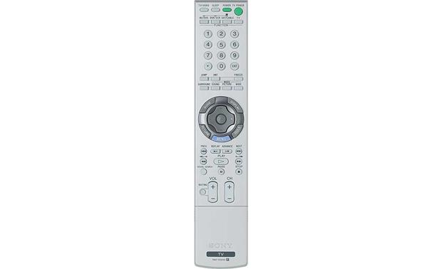 Sony KDL-52XBR2 Remote <br>(cover closed)