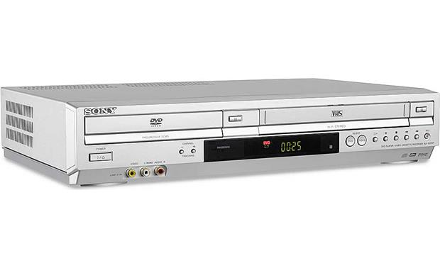 Sony SLV-D370P Combination DVD/CD player + HiFi VCR at Crutchfield