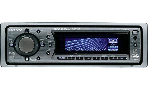 Sony cdx f605x cd player with mp3 playback at crutchfield sony cdx f605x front publicscrutiny Images