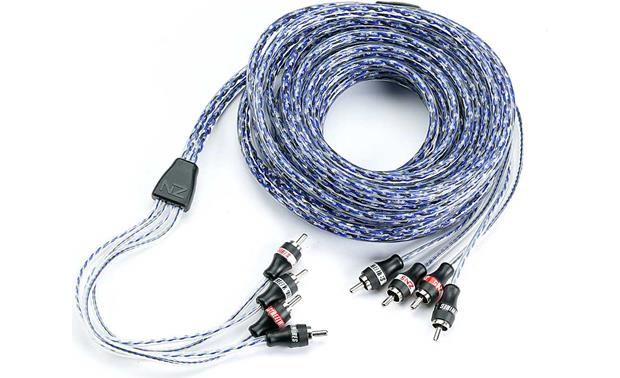 StreetWires Zero Noise 5 4-channel Patch Cables Front