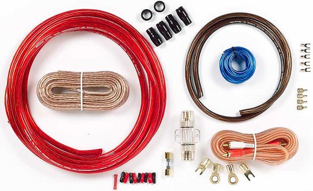 Phoenix Gold AKIT42 4-gauge Kit 4-gauge amplifier wiring kit with ...