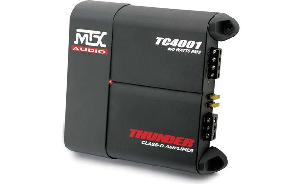 mtx thunder tc4001 mono subwoofer amplifier 400 watts rms x 1 at mtx thunder tc4001 front