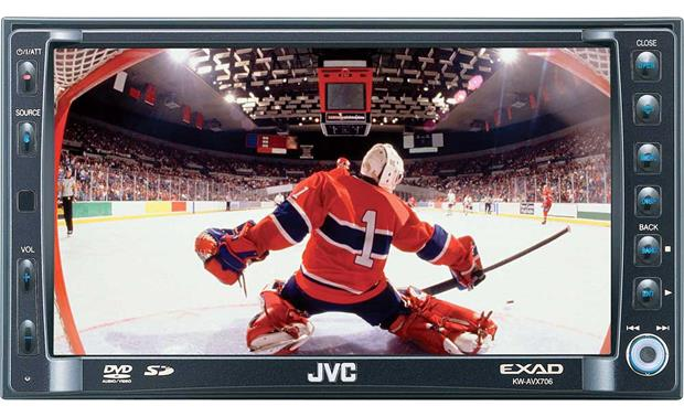 JVC KWAVX706 Indash DVD receiver with 65 video screen at – Jvc Kw Avx706 Wiring-diagram