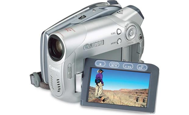 canon dc100 dvd camcorder at crutchfield com rh crutchfield com Canon Rebel XS User Manual Canon PowerShot User Manual
