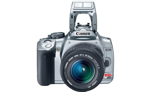 Canon EOS Digital Rebel XTi Kit Flash extended (silver/black)