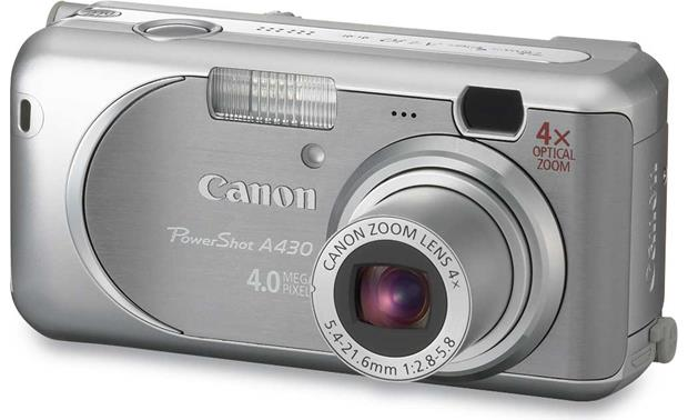 New Drivers: Canon PowerShot A430 Camera Twain