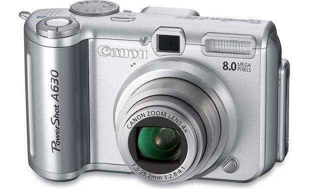 Canon PowerShot A630 Front