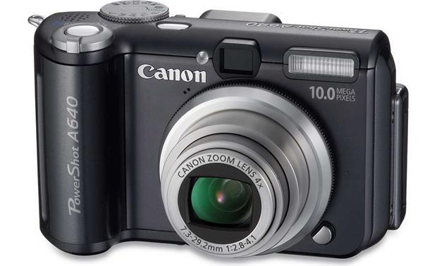 canon powershot a640 10 megapixel digital camera at crutchfield com rh crutchfield com powershot a540 manual canon powershot a640 manual download