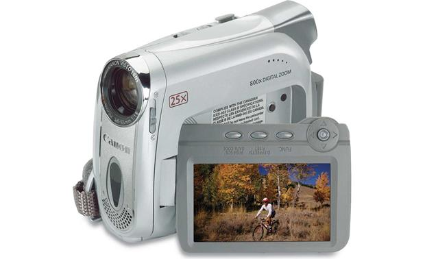 canon zr600 mini dv digital camcorder at crutchfield com rh crutchfield com Canon Rebel Camera Canon HD Camcorder