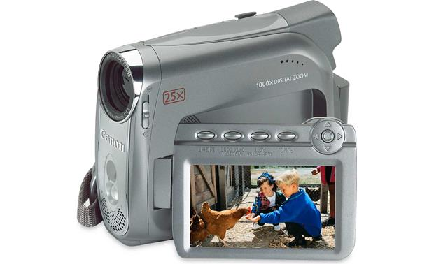 canon zr700 mini dv digital camcorder at crutchfield com rh crutchfield com Canon ZR850 Battery Digital Canon Camcorder ZR850