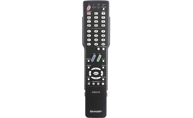 Sharp LC-42D62U Remote <br>(cover closed)