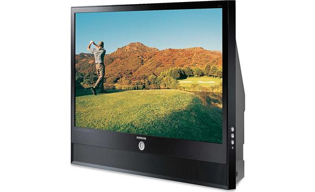 Samsung hl s5679w 56 1080p rear projection dlp hdtv with led samsung hl s5679w front sciox Choice Image