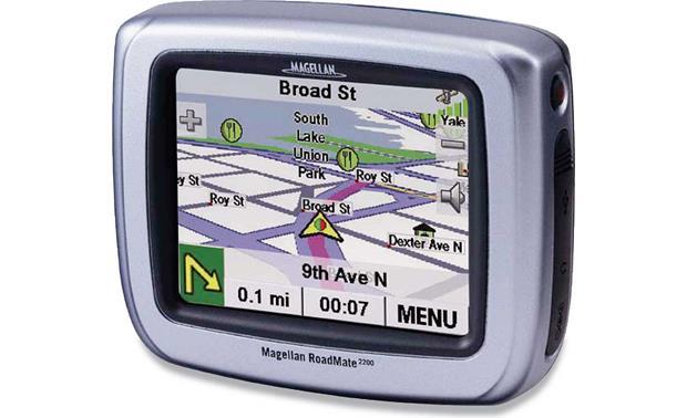 magellan roadmate 2200t portable car navigation system at rh crutchfield com  magellan roadmate 2200t manual