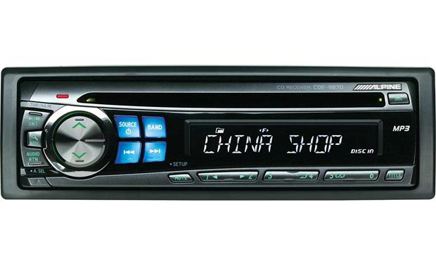 alpine cde 9870 cd receiver with mp3 playback at crutchfield com rh crutchfield com Alpine 9874 alpine cd receiver cde-9870 manual