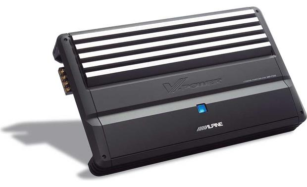 alpine mrp f550 4 channel car amplifier 90 watts rms x 4 at alpine mrp f550 front
