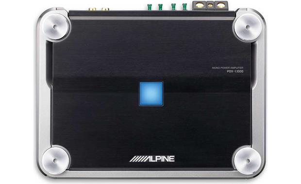 alpine pdx 1 1000 mono subwoofer amplifier 1000 watts rms x 1 at alpine pdx 1 1000 front