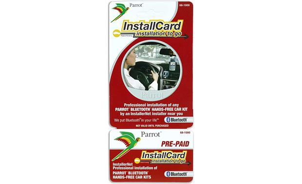 InstallCard: Bluetooth® Car Kit Front