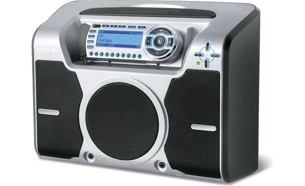 Sirius STB2 Boombox pictured<br>with Starmate Replay
