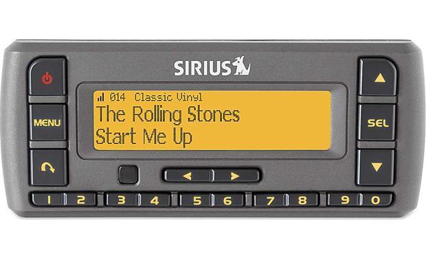 Sirius Stratus 7 Car Vehicle Cradle Dock Adhesive Dash Swivel Mount  NEW!