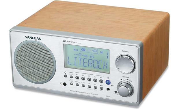 Sangean WR 2 Table Radio Walnut