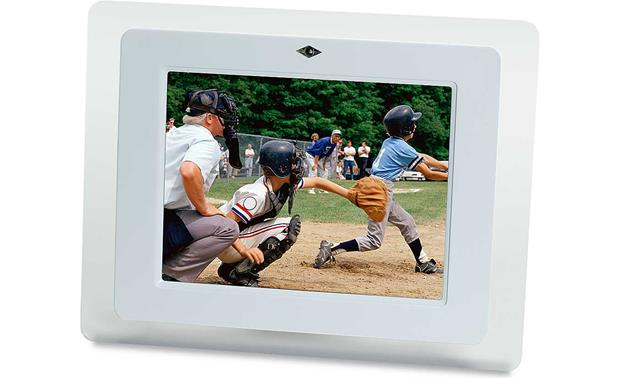 Smartparts Digital Photo Frame With 8 Lcd Screen At Crutchfieldcom
