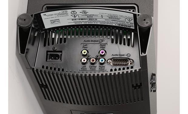 Bose® Acoustimass® 10 Series IV home entertainment speaker system (Black)  at CrutchfieldCrutchfield