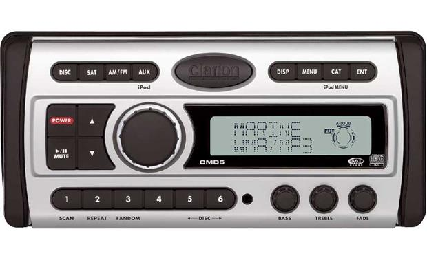 clarion cmd5 marine cd receiver at crutchfield com rh crutchfield com Clarion Marine Radio Wiring Diagram Clarion CMD5 Installation Manual