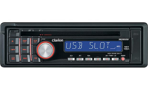 clarion db285usb front