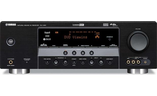 Yamaha rx v461 xm ready home theater receiver for Yamaha receiver accessories