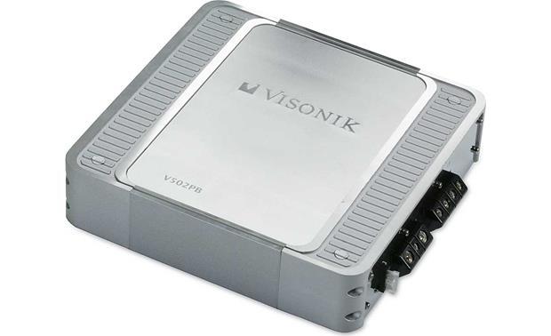 Visonik V502PB 2-channel car amplifier 100 watts RMS x 2 at CrutchfieldCrutchfield