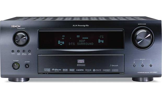 Denon AVR-3808CI Home theater receiver with HDMI switching and video ...
