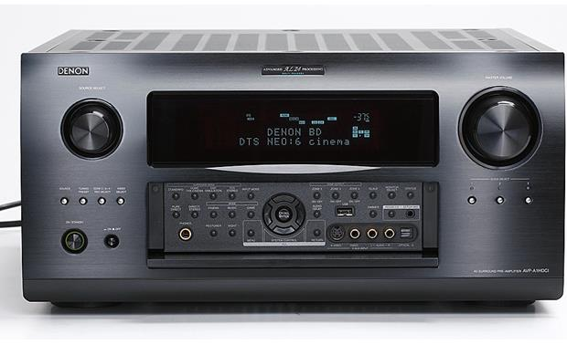 Denon AVP-A1HDCI Fold-down front panel