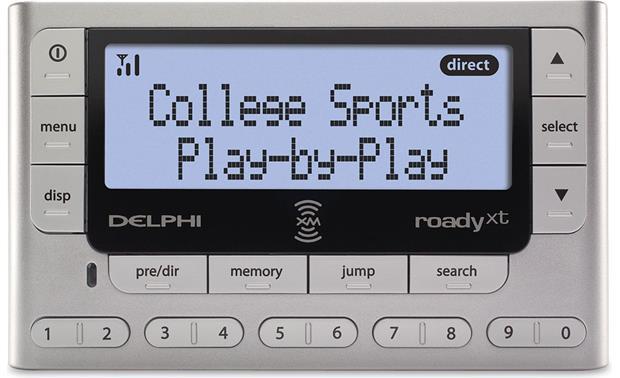 delphi roady xt plug and play xm satellite radio with car rh crutchfield com