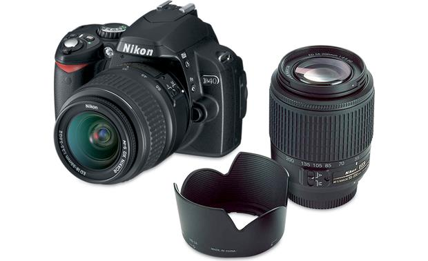 nikon d40 2 lens kit 6 1 megapixel digital slr camera kit with 18 rh crutchfield com Tutorial Nikon D40 nikon d40 manual pdf español