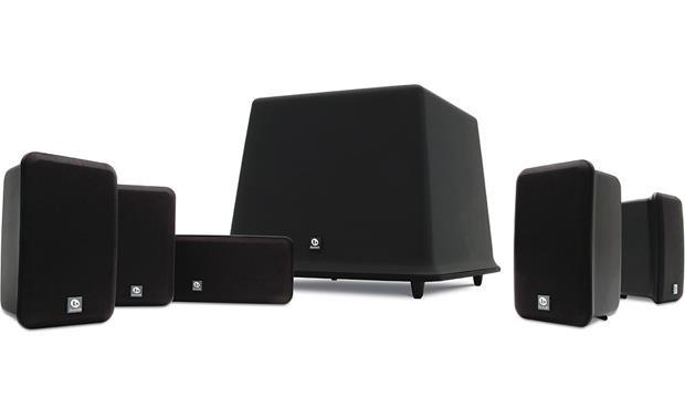 boston acoustics mcs 100 home theater speaker system midnight 5 rh crutchfield com Home Theater Design Boston Acoustics SoundWare Speakers
