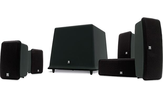 Boston Acoustics Mcs 130 Home Theater Speaker System Midnight