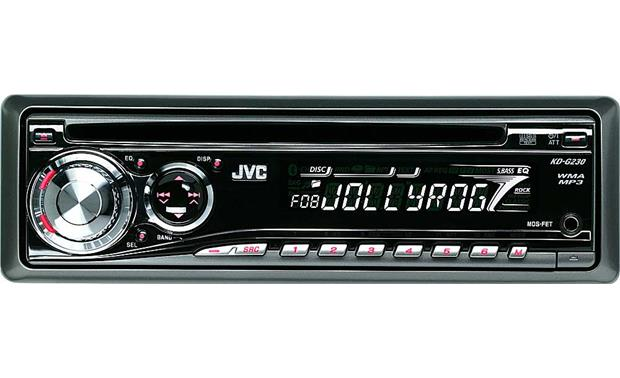 jvc kd g230 cd receiver with mp3 wma playback reviews at. Black Bedroom Furniture Sets. Home Design Ideas