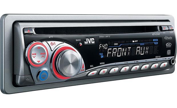 JVC KD-G340 on