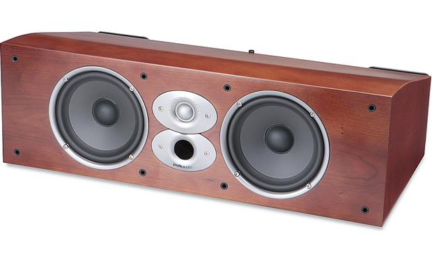 Polk Audio CSi A6 Grille off (Cherry)