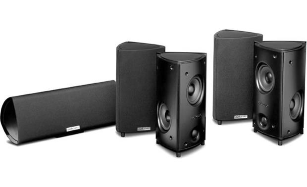 Polk Audio RM95 Home Theater Speaker System Front