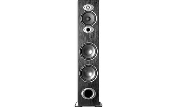 Polk Audio Rti A7 Black Floor Standing Speaker At