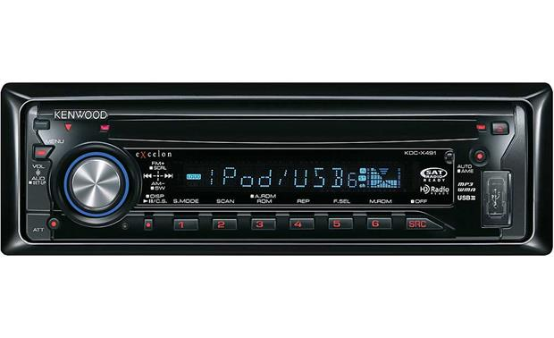 kenwood excelon kdc x491 cd receiver with mp3 wma aac playback rh crutchfield com  kdc x395 manual