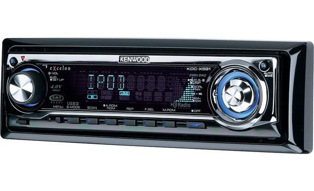 Kenwood Excelon Kdc X591 Cd Receiver With Mp3 Wma Aac Playback At