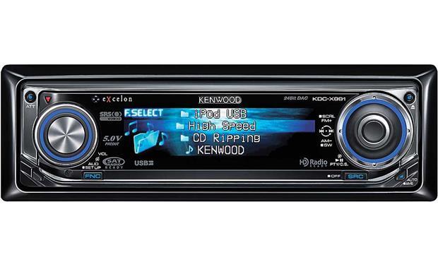kenwood excelon kdc x991 cd receiver at crutchfield com rh crutchfield com