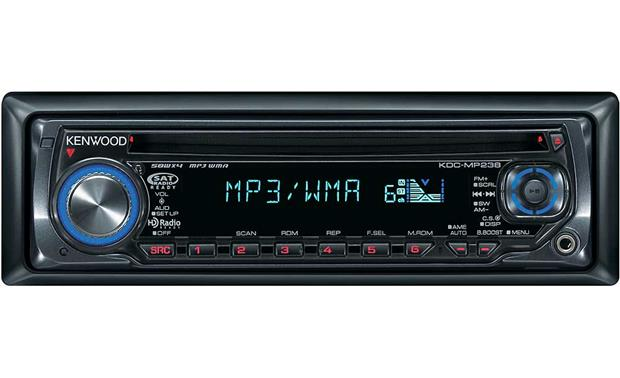 kenwood kdc mp238 cd receiver at crutchfield com  kenwood kdc mp238 front