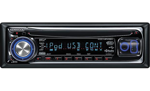 Kenwood KDC-MP438U Front